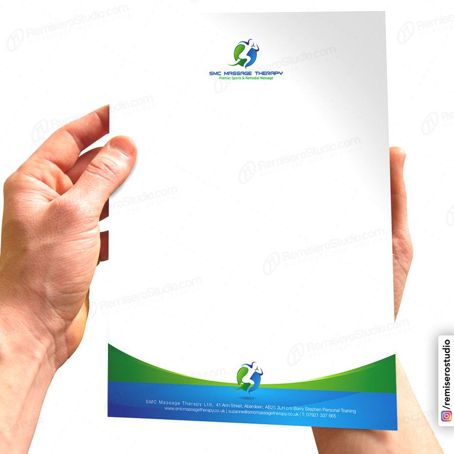 Hojas de Papel membretado impreso en papel bond de 90 gramos a full color