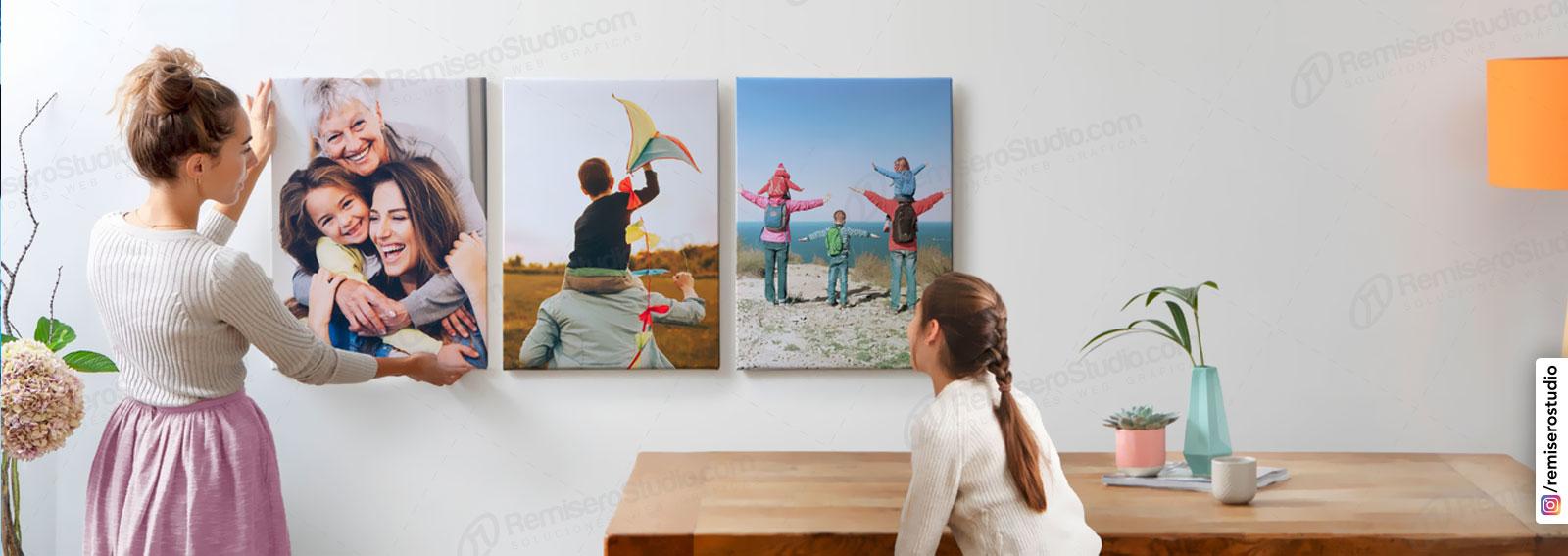 Foto lienzo canvas impresión personalizado