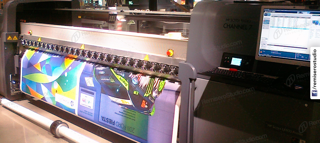 Servicio de Impresión digital en gran formato