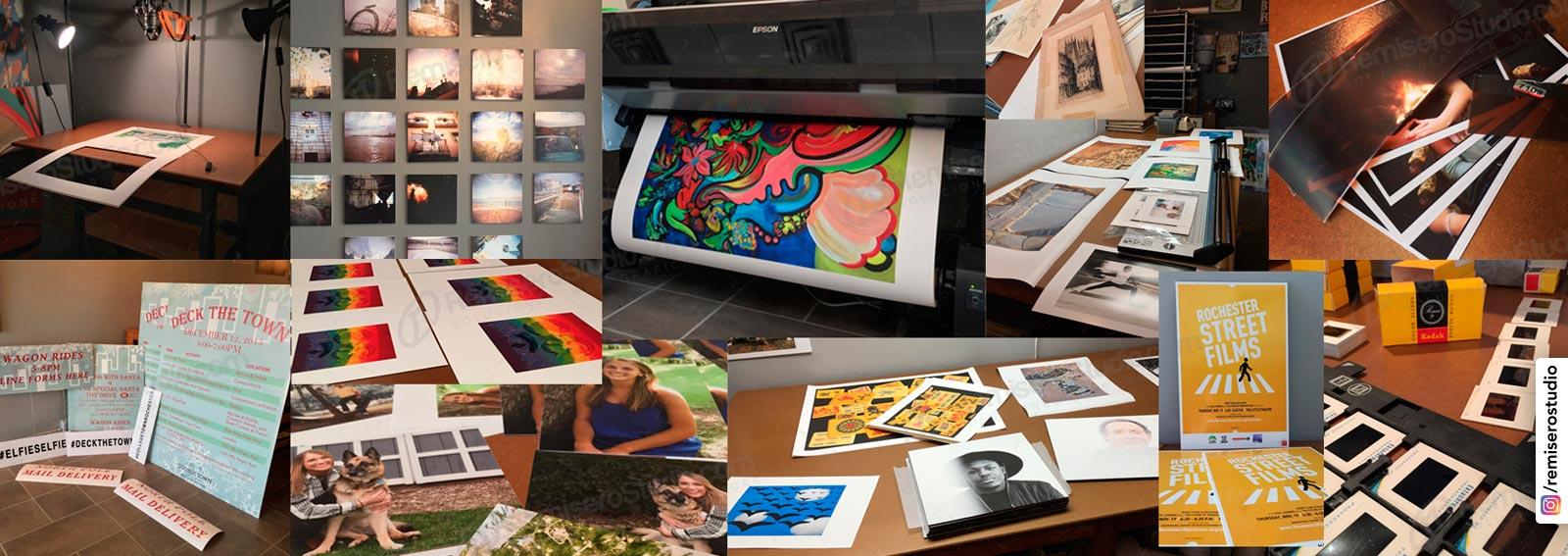 Impresión Digital Inkjet en Lima, Perú: Impresión digital en Papel Fotográfico, Perlado, Backlite, Lienzo canvas, Tamaños A2, A1, A0