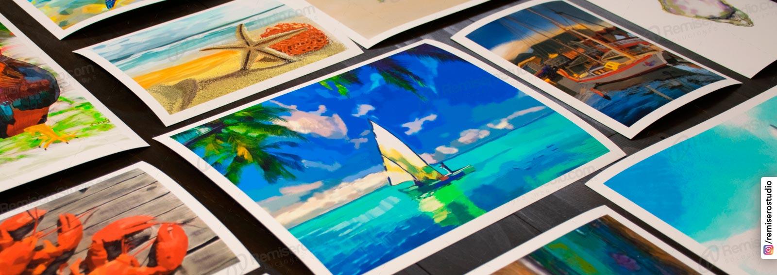 Impresión de fotos en alta calidad de resolución de imagen en photo premium paper, con tintas resistentes al agua y a los rayos uv.