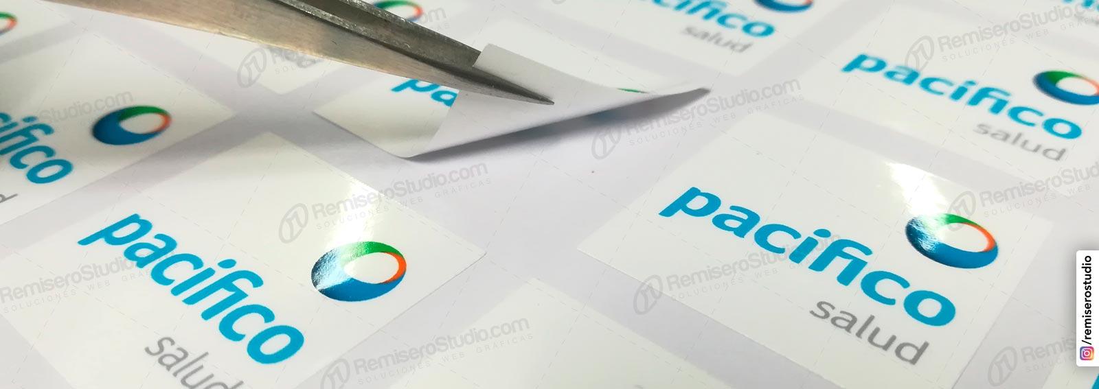 Impresión laser de stickers adhesivos y etiquetas a demanda