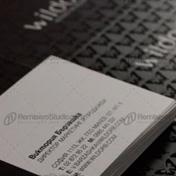 Impresión de tarjetas personales con uv sectorizado