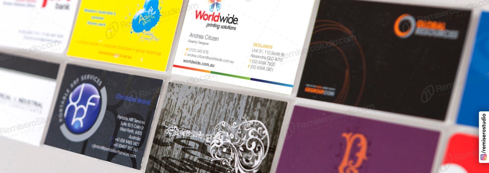 Tarjetas Personales, impresión a full color de tarjetas de presentación