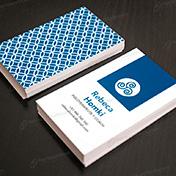 Diseño tarjeta personal Psicoterapeuta Coach
