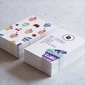 Tarjetas Cupcakes Reposteria
