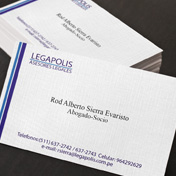 Tarjeta personal abogados