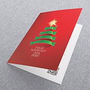 Arbol de navidad - Tarjetas Navideñas Corporativas para empresas Perú, Navidad -  Navidad 2021 - 2022