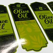 Etiquetas adhesivas para frascos de aceite de oliva - Olive Oil stickers label