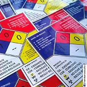 Stickers adhesivos seguridad rombo materiales peligrosos cliente cdv