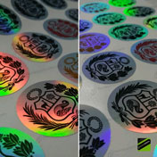 Stickers holográficos, Holographic Stickers, Hologram Label