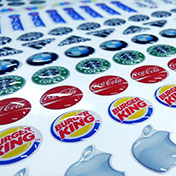 Stickers Resinados Dome Personalizados (Domed Labels)