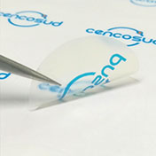 Stickers adhesivos circulares para congelados  - cencosud