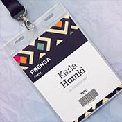 Credencial - Pase de Prensa, Impresión a Color en Perú