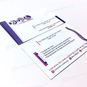 Tarjetas personales medicina ortopedia