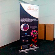 Banner con impresion Roll Screen  Roll Up 060 x 160 Cliente silvia