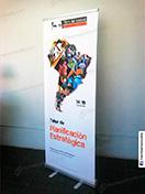 Banner impresión roll screen 80 x 200 cliente fundacion tdh