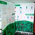 Banner con impresión de Roll Screen / Roll up Banner 150 x 200 para nuestro cliente