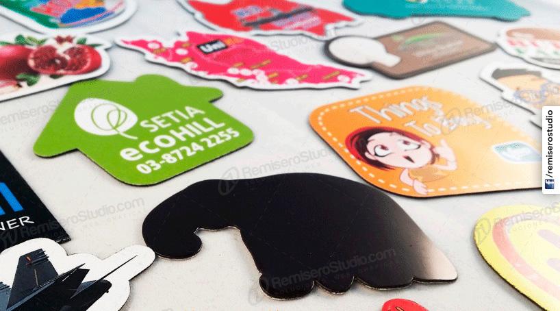 Impresion de Stickers Imantados